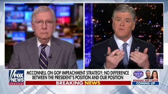 So Much For An Unbiased Jury: Moscow Mitch Working For Trump
