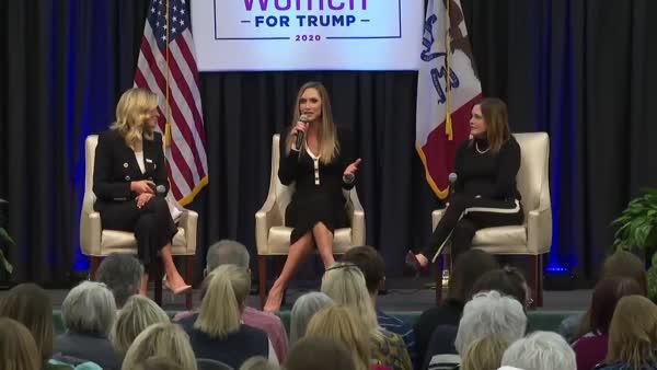 Mean Girl Lara Trump Makes Joke About Biden's Stutter
