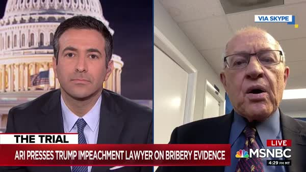 Alan Dershowitz Flings Theory That Abuse Of Power Is Not Impeachable