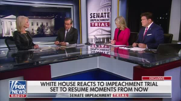 Chris Wallace Laughs At Kellyanne's Claim Ukraine Aid Timing Was 'Coincidence'