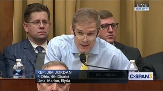 Jim Jordan Sputters While FBI Director Smirks