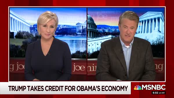 Trump Rage-Tweets Over Obama Taking Credit For Today's Economy