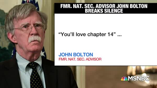 John Bolton Puts Money Before Truth And Honor