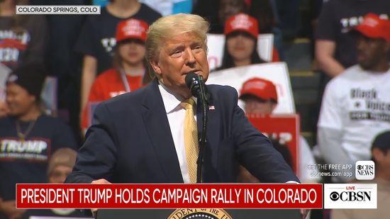 Trump Attacks His Democratic Rivals In Colorado
