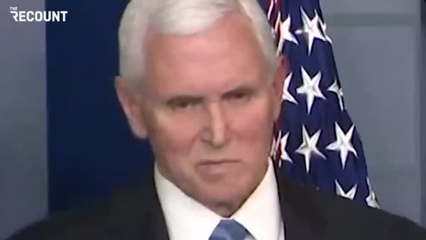 WATCH As Mike Pence Shows Why He's A Terrible Choice For Coronavirus Czar
