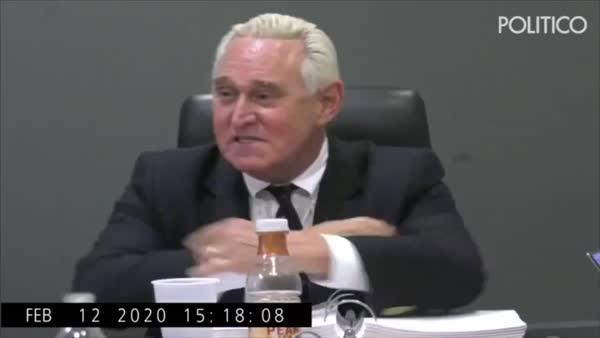 Roger Stone Is Completely Unhinged During Disturbing Deposition