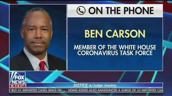 Ben Carson: Trump Is Promoting Untested Drug Because He's A Businessman