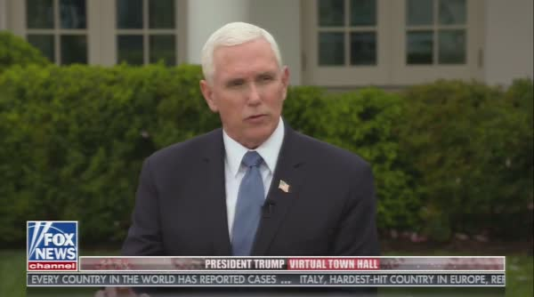 Mike Pence Gaslights Cuomo's Request For Ventilators
