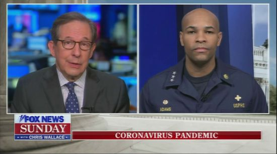 Chris Wallace Skewers Surgeon General For Comparing Virus To Smoking