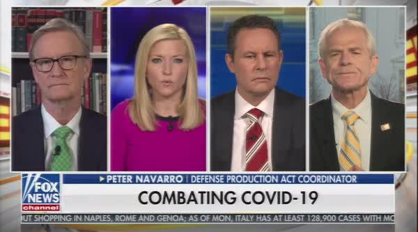 Peter Navarro: 'I Bet On Trump's Intuition' Over Science When It Comes To Treatment Of COVID-19