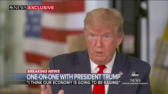 Trump Tells ABC He Was Too Busy With 'Things' To Prepare For The COVID Outbreak
