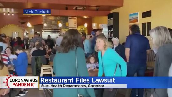 Colorado Restaurant Owners Sue Governor And Health Departments Over Order To Close