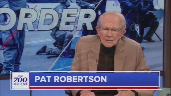 Hipster Pat Robertson Yells At Trump: 'Not Cool!'