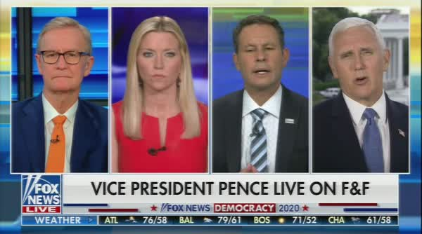 Mike Pence Lets It Slip: Fox News Is About Re-Electing Trump
