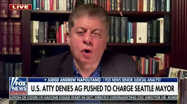 Judge Napolitano: Protestors Are Not Guilty Of 'Sedition'