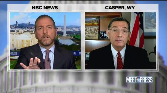'A Power Grab, Plain And Simple': Chuck Todd Confronts GOP Senator's Hypocrisy
