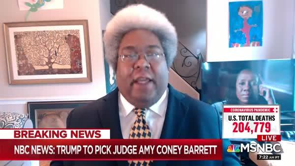 Elie Mystal Absolutely Levels Amy Coney Barrett's Judicial Reputation On AM Joy