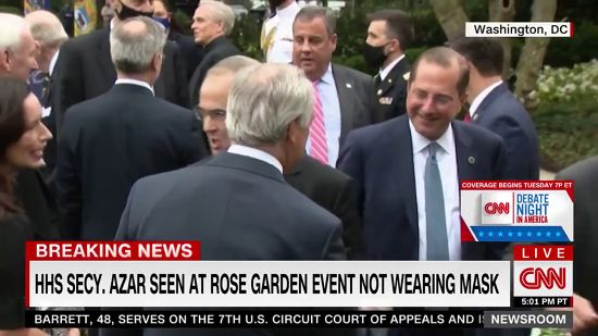 CNN Whacks Trump For Lack Of Concern Over COVID Spread At Rose Garden Event And Latest MAGA Rally