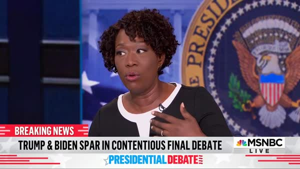 Joy Reid Brings Receipts To Trump's Lies About Black Lives Matter