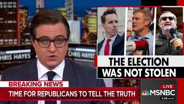 Chris Hayes Has Had It With The GOP Big Lie: 2020 Was A Free And Fair Election