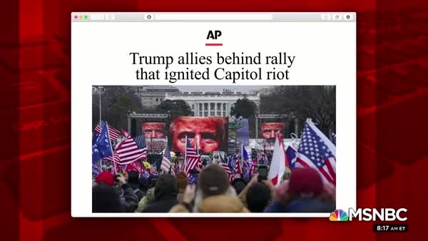 Trump Aides Tried To Hide Their Connection To The Insurrection Rally