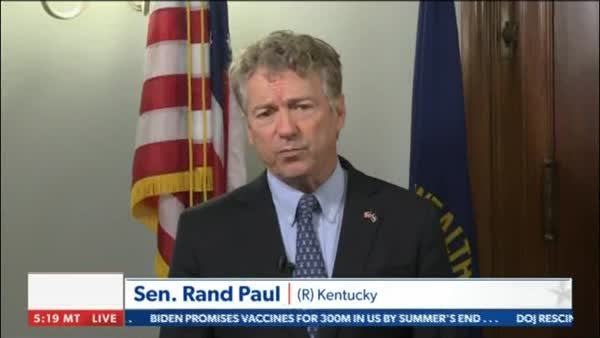 Rand Paul Claims Dem's Healthcare Protests Incited Violence