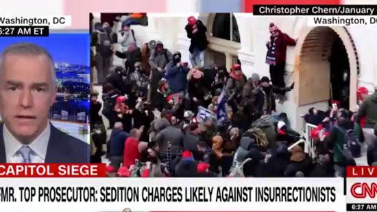 Capitol Attack Prosecutor Says Sedition Charges Possible Against Insurrectionists