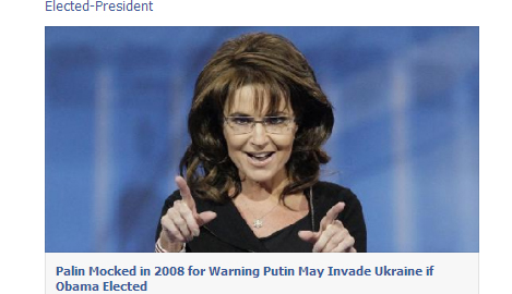 Sarah Palin Is Actually Gleeful About Russia Invading The ...
