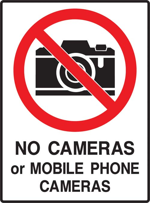 No Cameras Allowed - about camera
