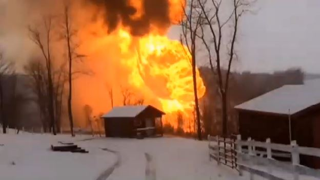 Another Pipeline Explosion This Time In West Virginia
