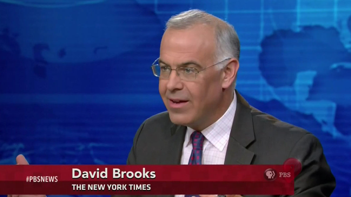 david brooks essay on jared diamond s David brooks may deserve what we once called a knuckle sandwich it's one thing to be responsibly provocative, especially as an op-ed columnist an essay on cultural signifiers not understood by the poor and under-educated prompted mcsweeney's to offer lucy huber's course catalog for david.