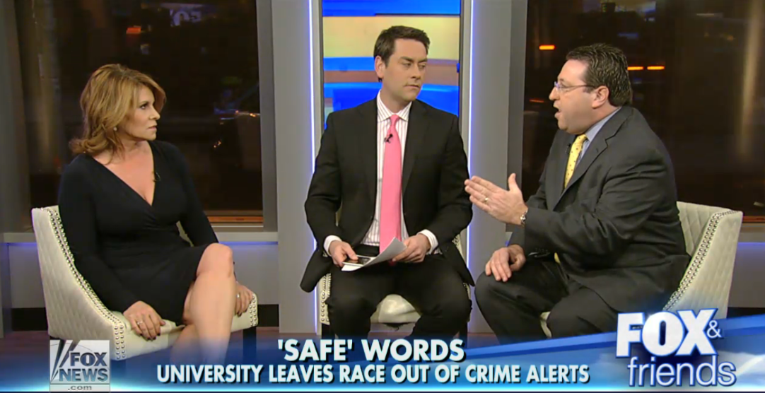 Fox News Disparages U. Of Minnesota P.D. For Not Being Racist Enough