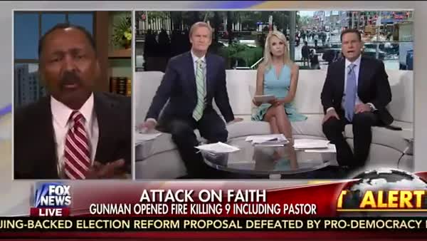 Fox News Blames The War On Christians For Charleston
