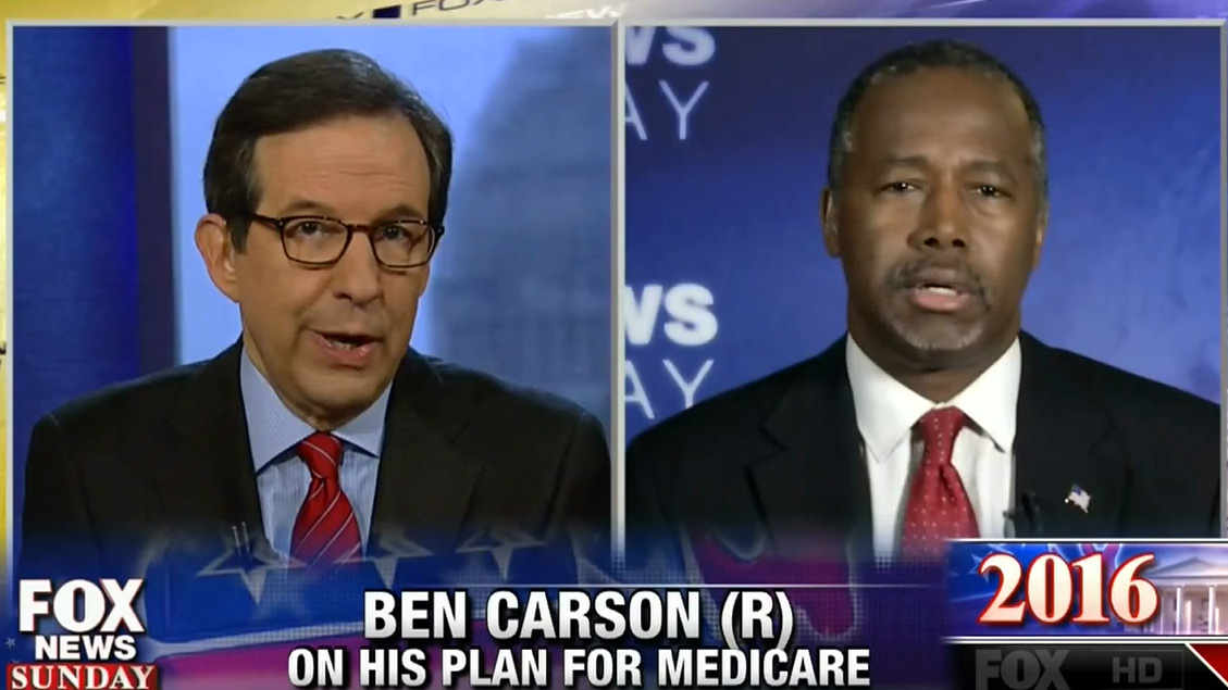 Ben Carson Pretends He Doesn't Really Want To End Medicare ...