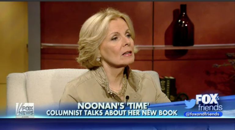 Peggy Noonan Reminisces About The America She Helped
