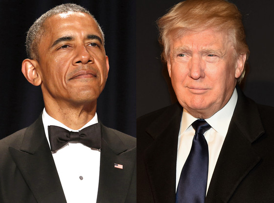 Obama Twits Trump: 'You Can't Build A Border Wall To Stop Climate Change'