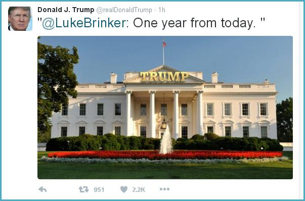 Trump Endorses Tacky White House 39 Makeover 39 On Twitter