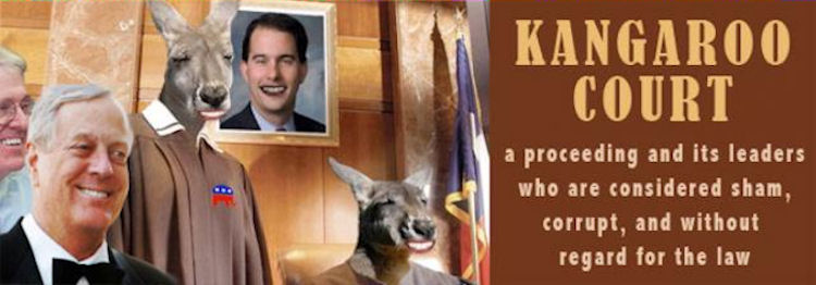 Walker Gop To Strengthen Chokehold On State Supreme Court Crooks And Liars
