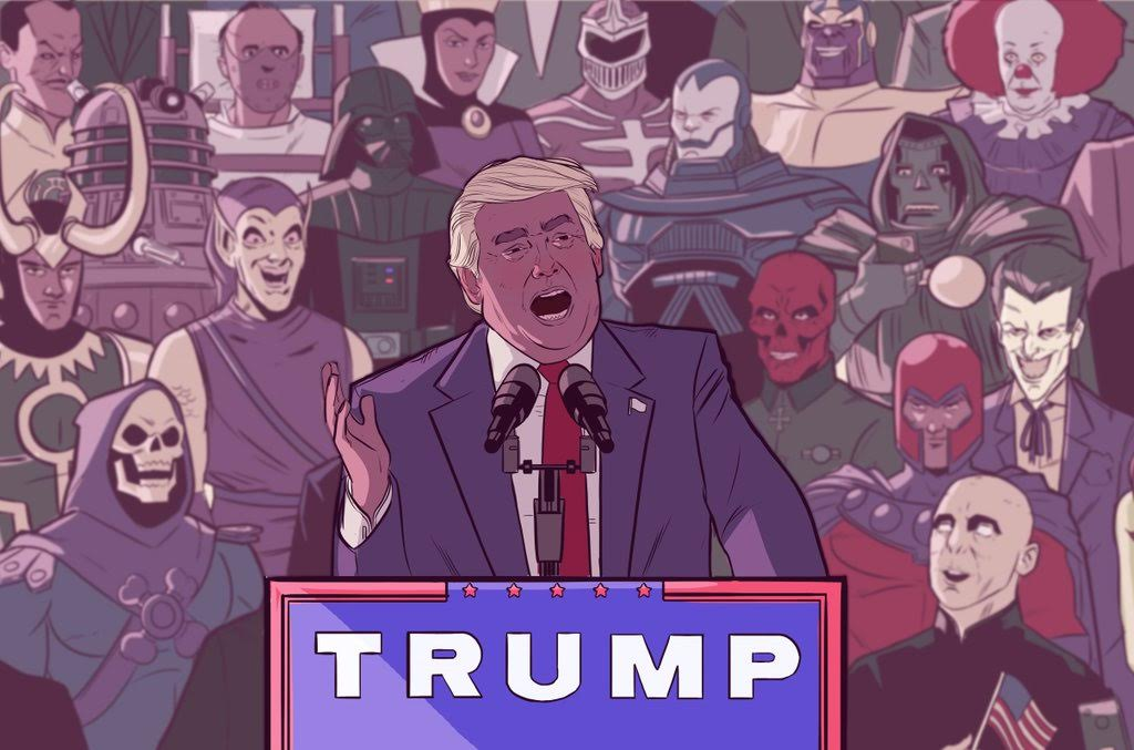 Open Thread - Super Villains For Trump | Crooks and Liars