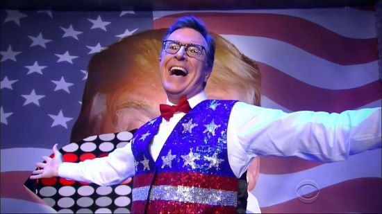 Late Show with Stephen Colbert RNC opening number