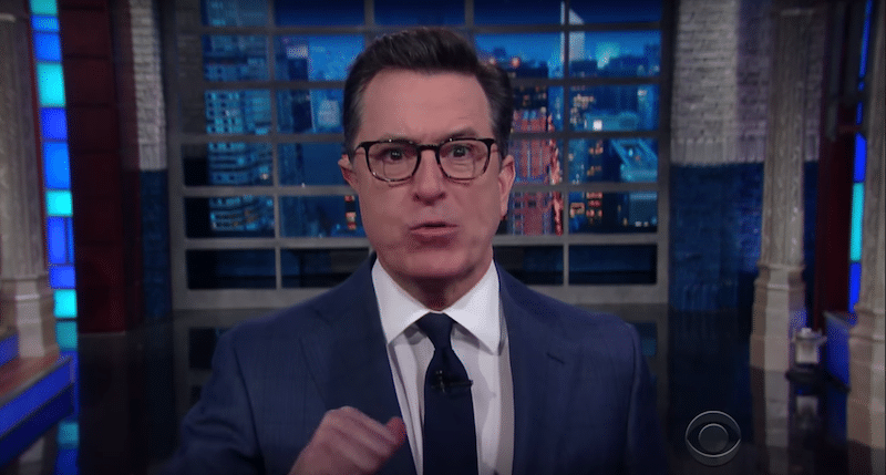 "Open Thread: Stephen Colbert in the ""Pee Pee Tape' Hotel"