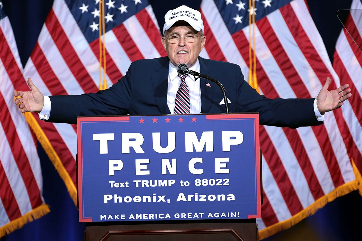 photo image While Comey Hearing Zapped Roger Stone, Don't Forget Giuliani