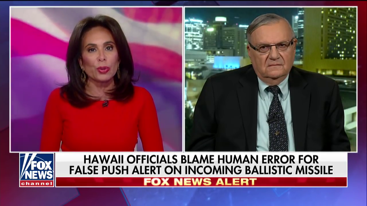 Joe arpaio suggests hi false missile alert was part of a joe arpaio suggests hi false missile alert was part of a conspiracy involving obamas birth certificate crooks and liars 1betcityfo Gallery