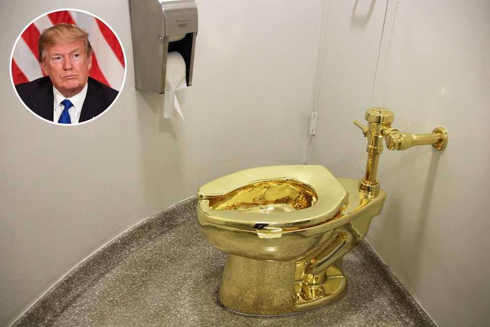 White House Asks Museum For A Van Gogh Gets A Toilet