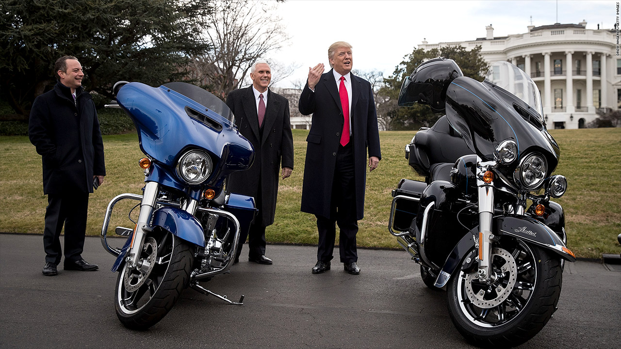 Harley Davidson: Trump Beats Up Harley Davidson Over Tariffs, Then Taunts