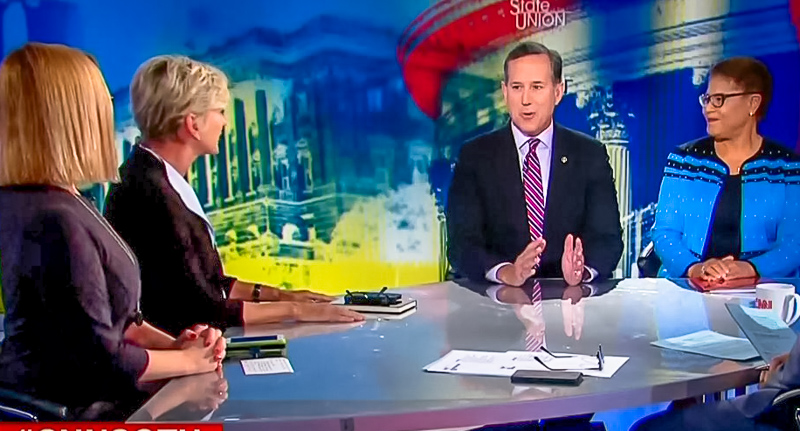 Rick Santorum Gets Shot Down While Arguing Mueller's Job Is To Prosecute Hillary Clinton