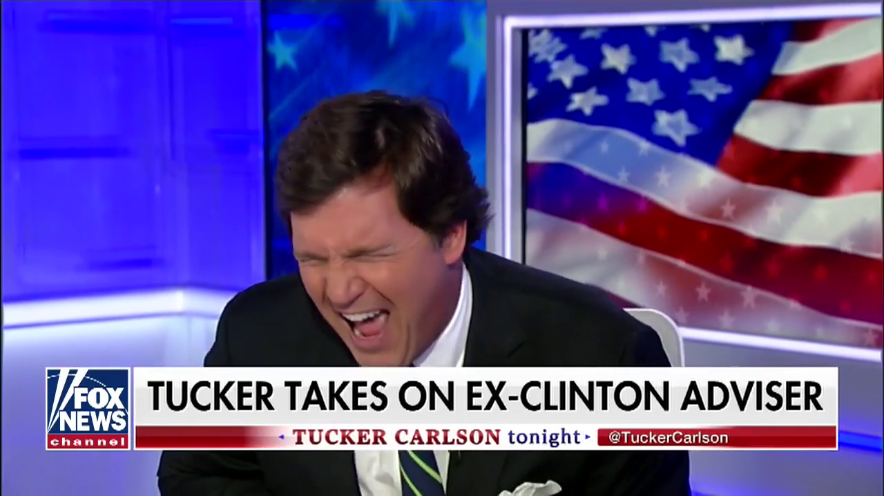 Tucker Carlson Laughs At Pipe Bomb Sent To George Soros