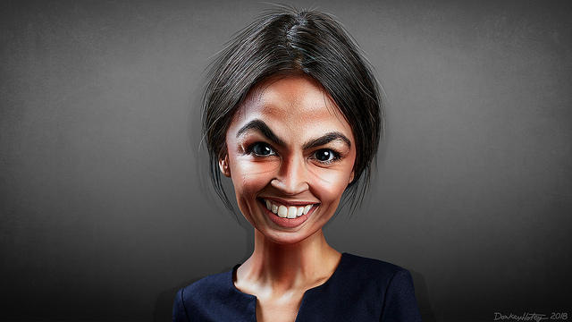 Twitter Smacks Right-Wing Reporter After He Suit-Shames Ocasio-Cortez