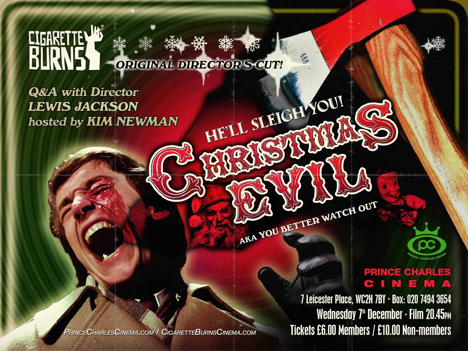 Christmas Evil 1980.C L S Chiller Theater Christmas Evil 1980 Crooks And Liars