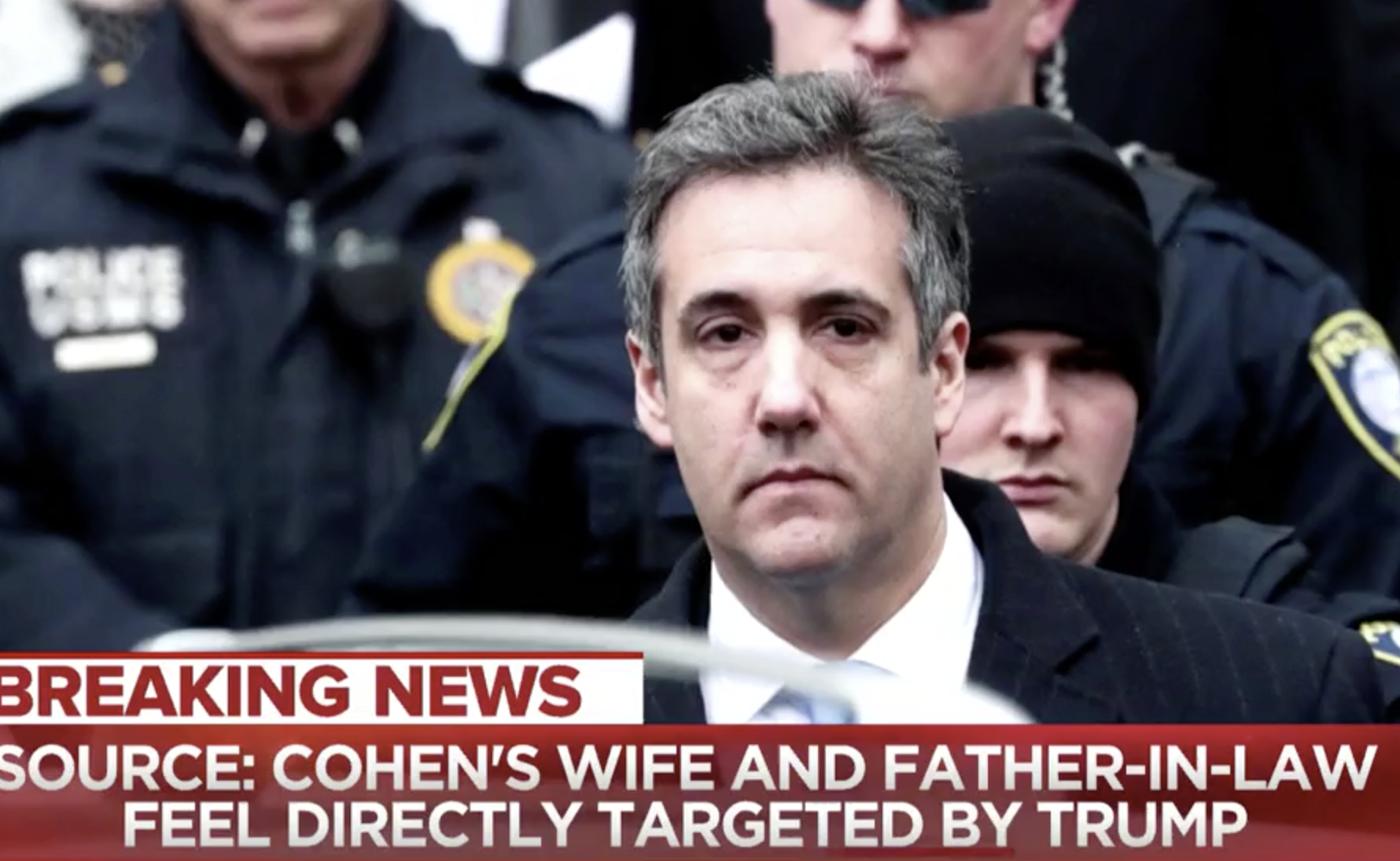 Michael Cohen Cancels Congressional Testimony After Threats From